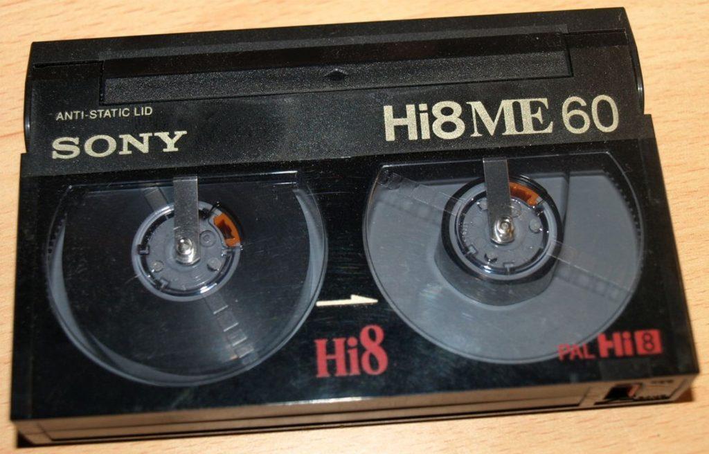 Cassette Hi 8