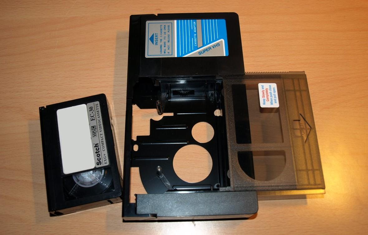 Adaptateur pour cassette VHS-C