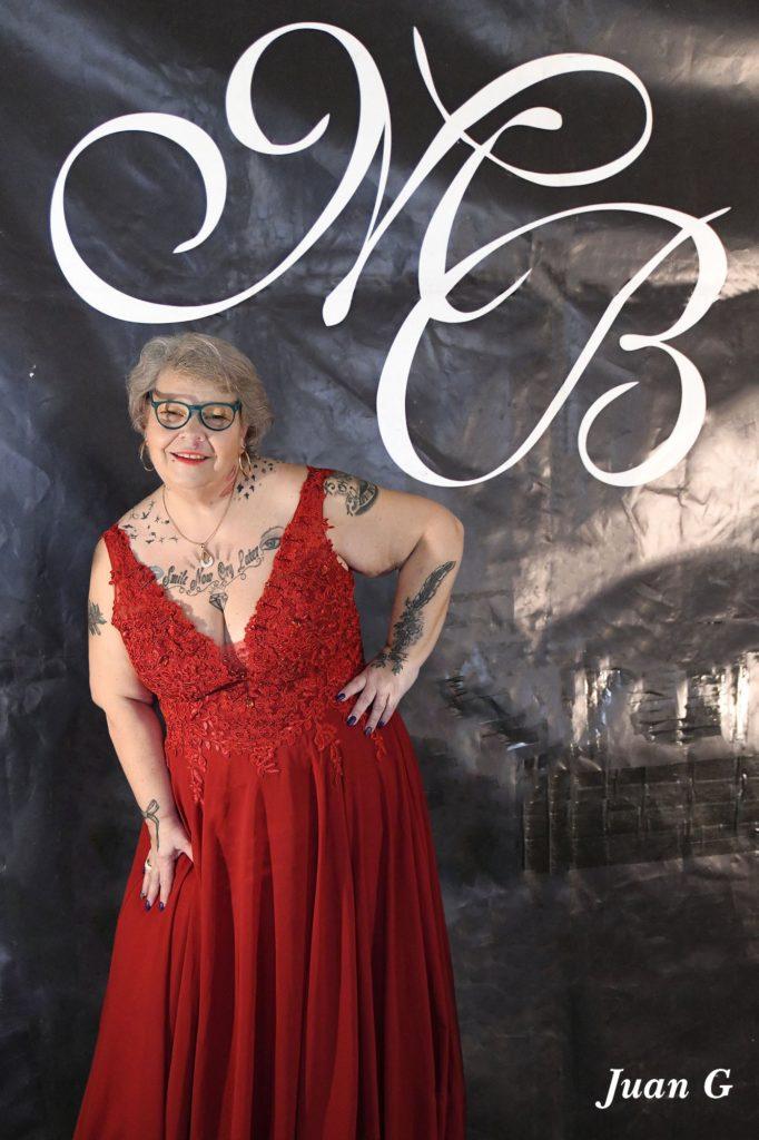 N° 09 Laurence élue Coup de Coeur du Jury de Miss Ronde Alsace 2020